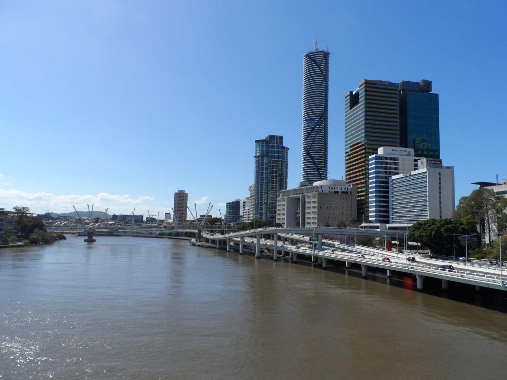 Nehir Kenarından Brisbane