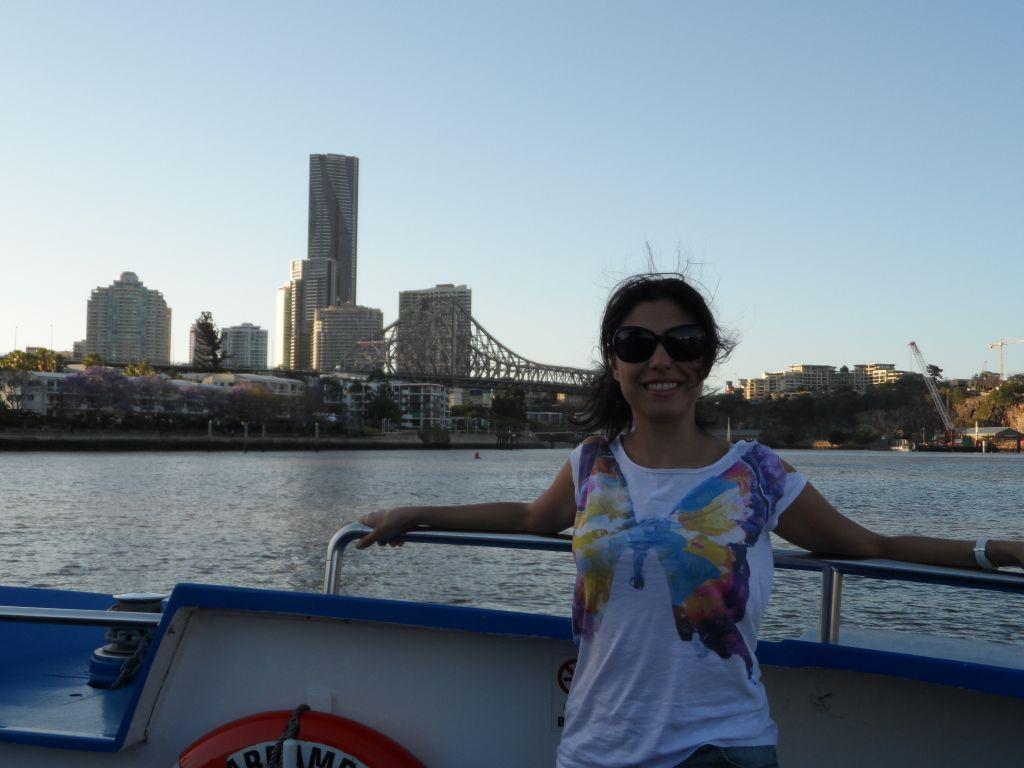 Brisbane'de nehir gezintisi