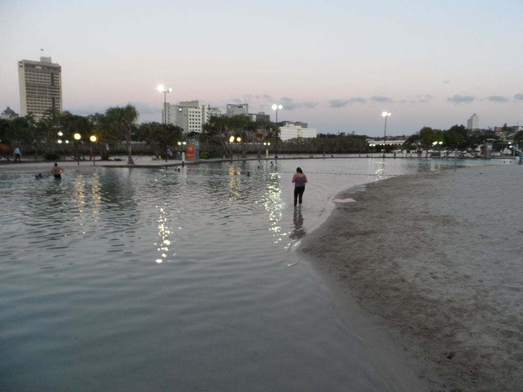 Brisbane Southbank'de havuz