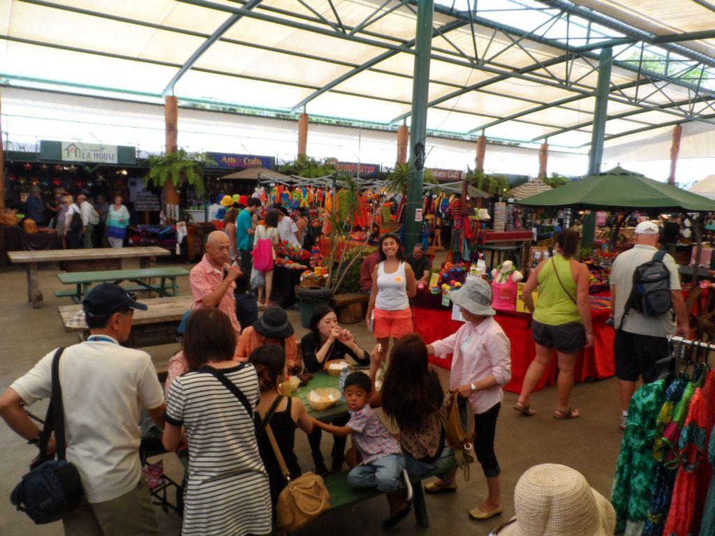 Kuranda Turist pazarında
