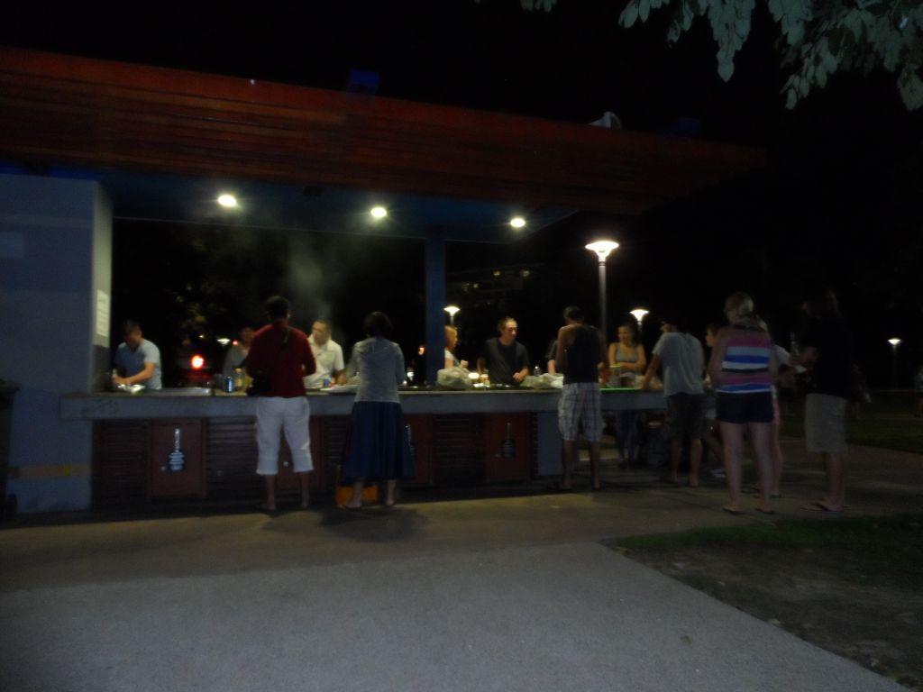 Cairns'de sosyal alan mutfak