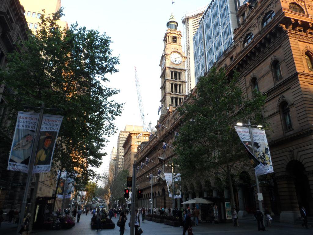 Sydney sokaklarından