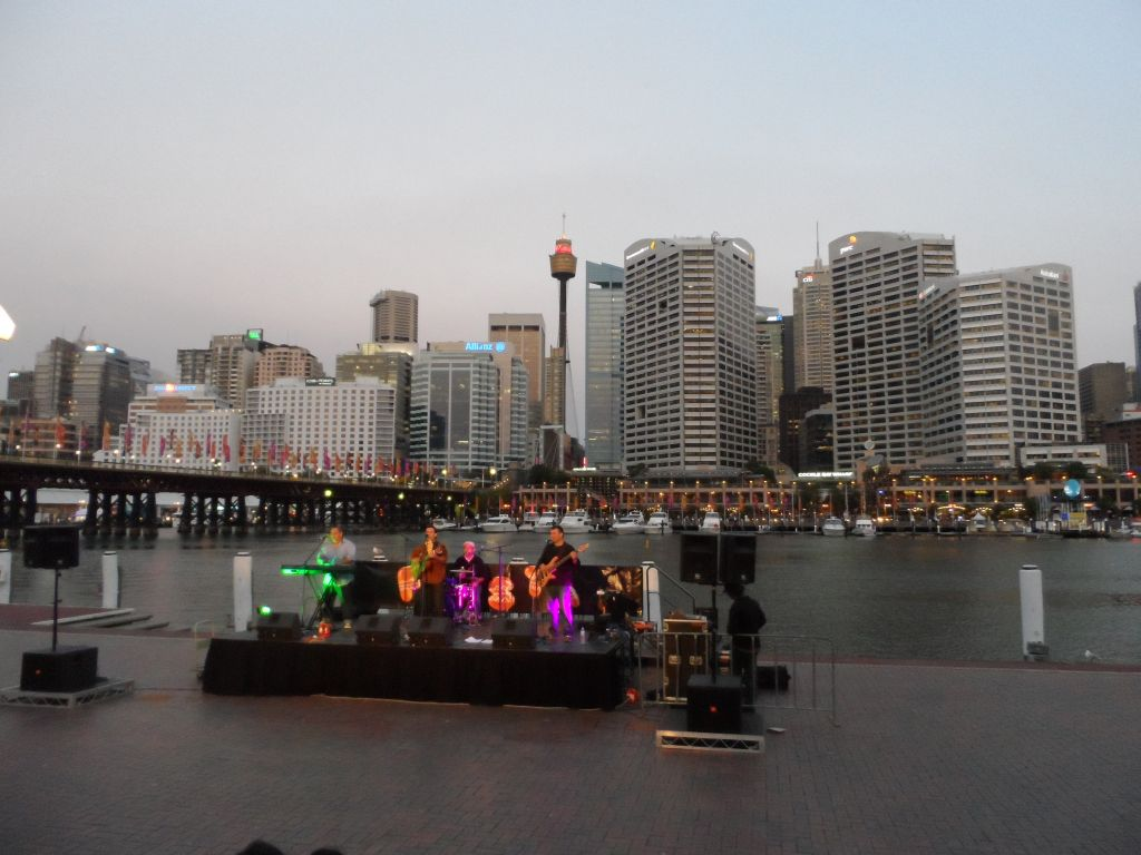 Darling Limanında konser