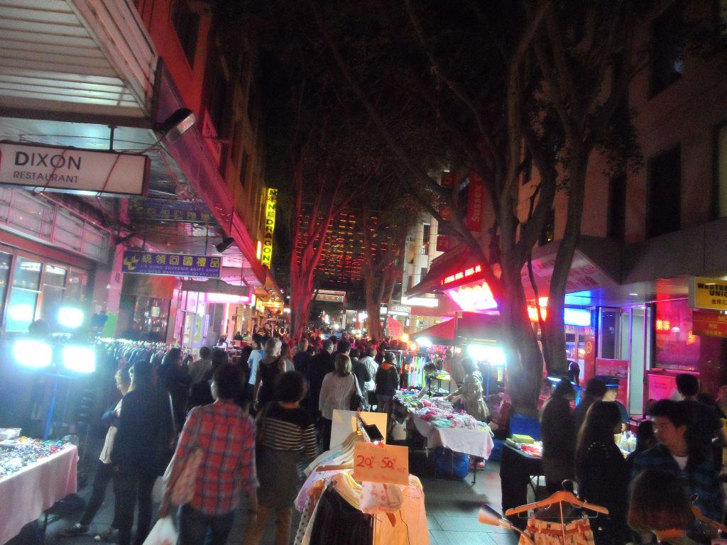 Sydney Çin mahallesinde