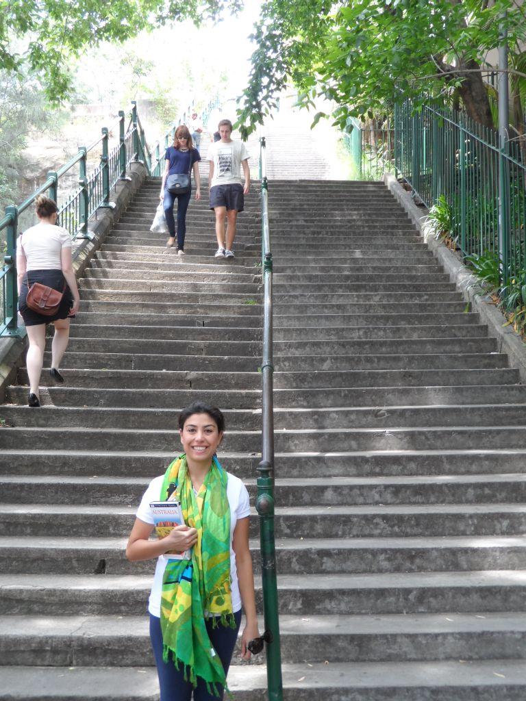 McElhone merdivenleri, Sydney