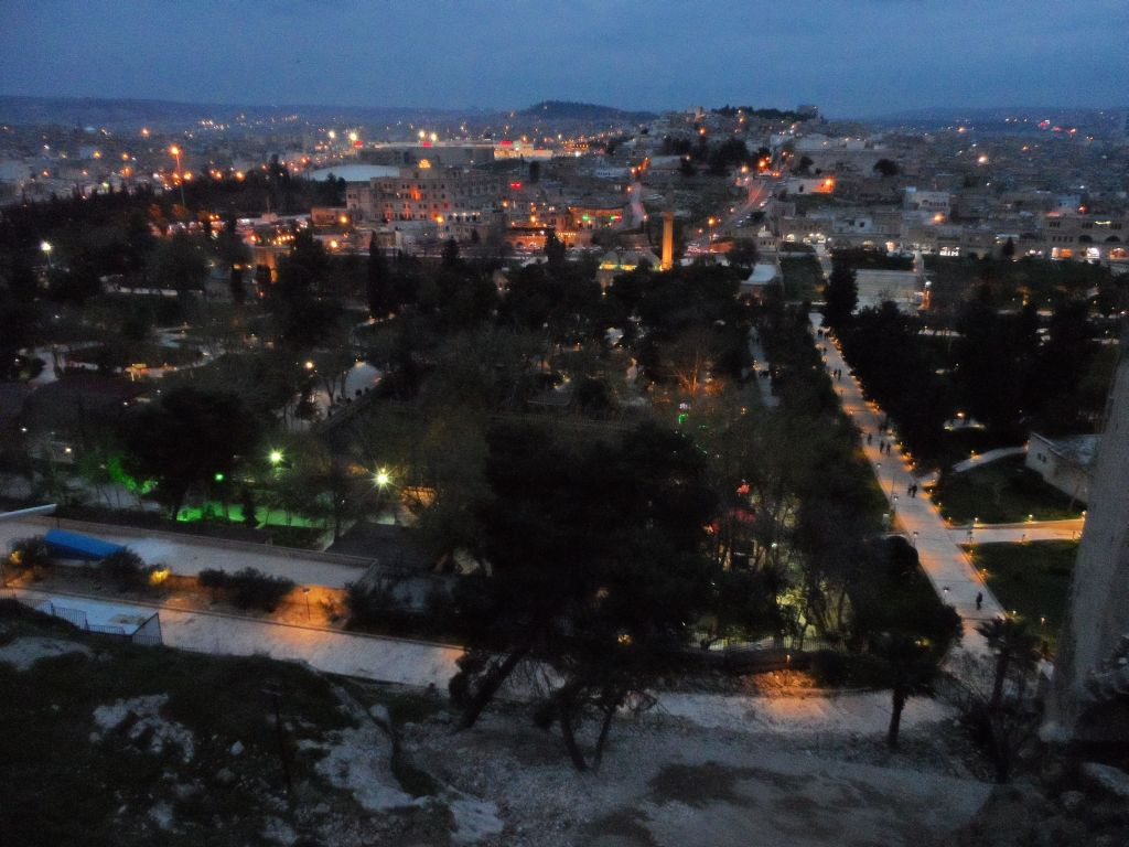 Urfa Kalesinden şehre bakış