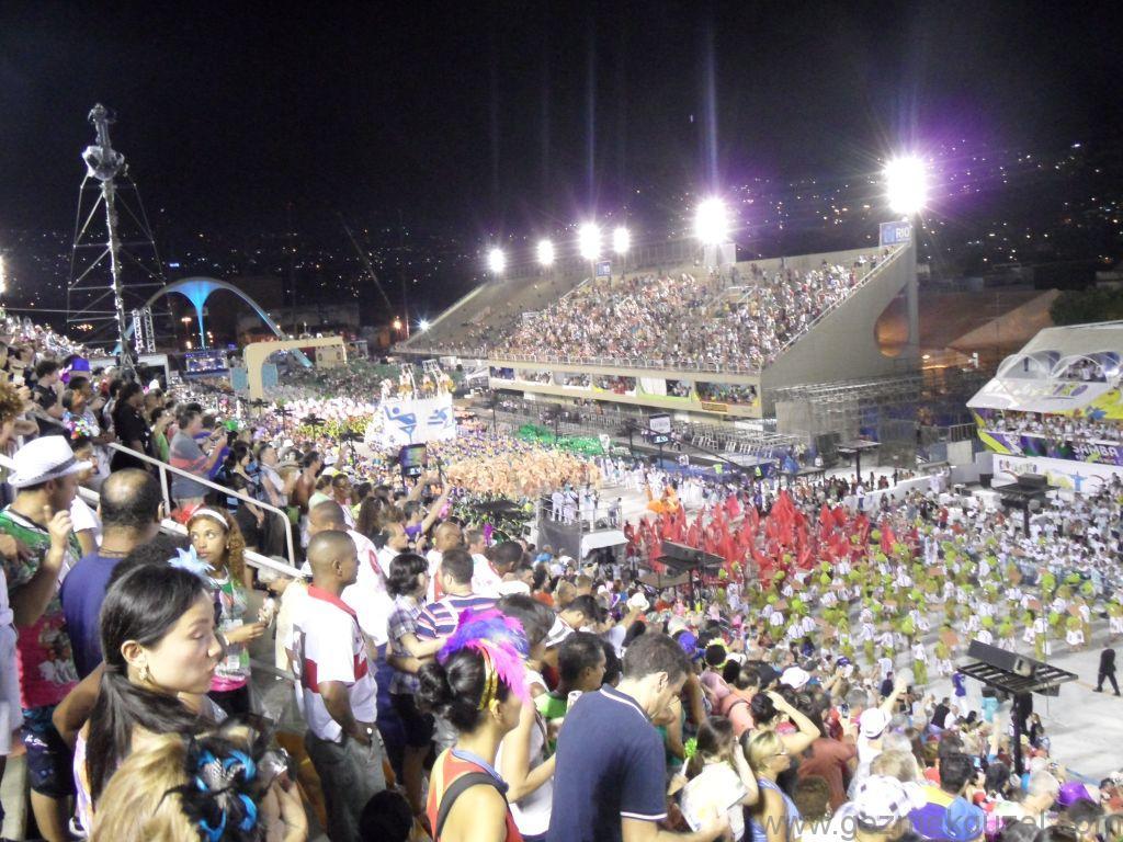 Sambadrome Tribünleri, Rio Karnavalı, Brezilya Gezisi Notları