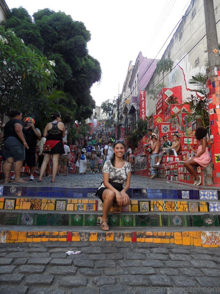 Santa Teresa Merdivenleri, Rio Gezisi, Brezilya Gezisi Notları
