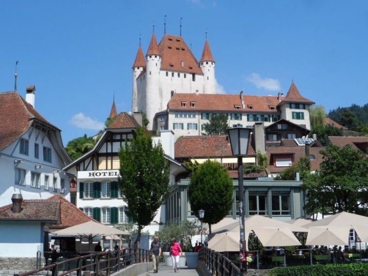 Schloss Thun, Bern gezilecek yerler