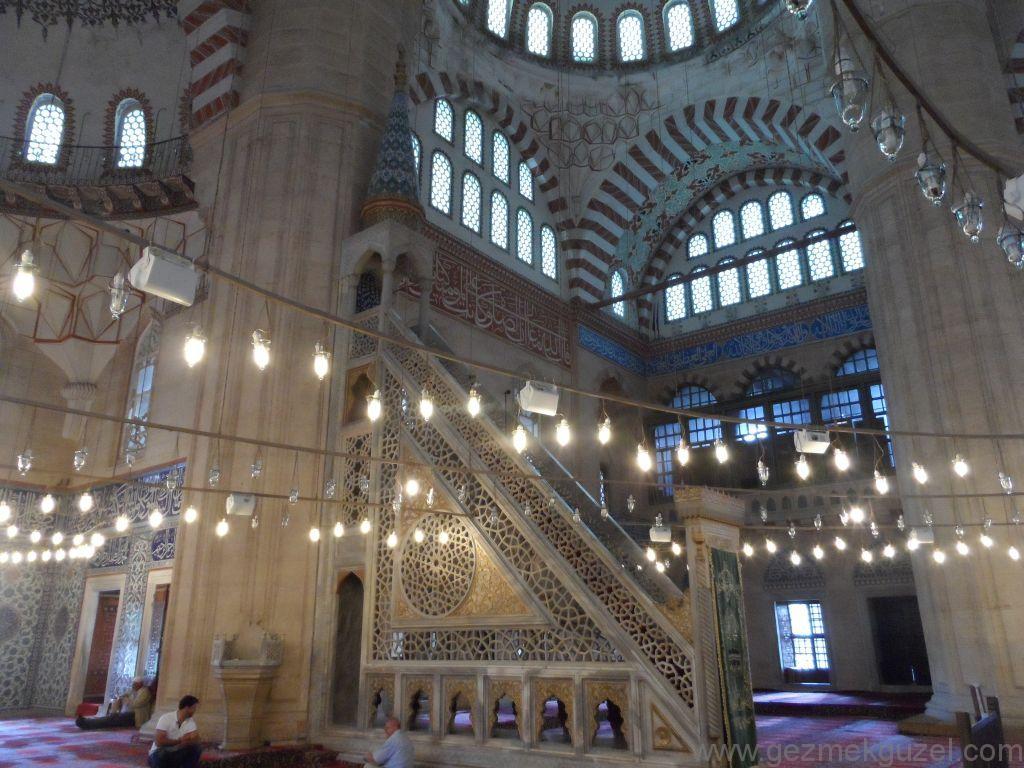 Selimiye Camii Mimbarı, Edirne Görülecek Yerler, Gezginlerle Trakya Gezisi