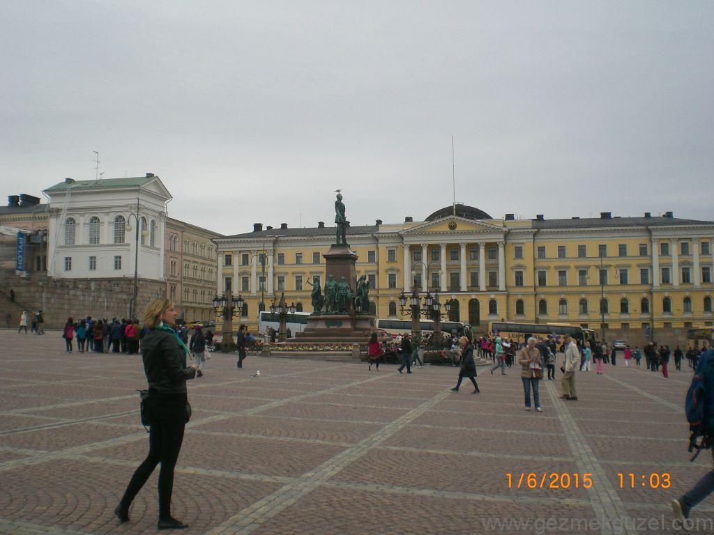 Sibelius Anıtı, Helsinki Gezisi, Baltık Başkentleri Gezisi
