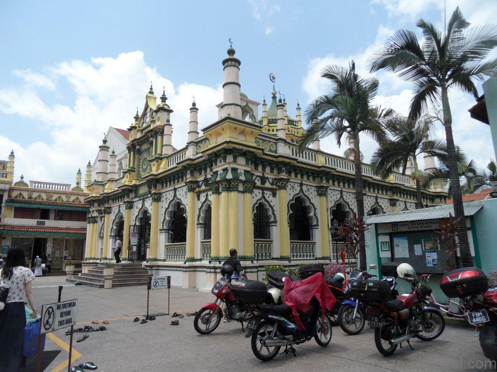 Singapur Gezilecek Yerler, Abdul Gafur Camii