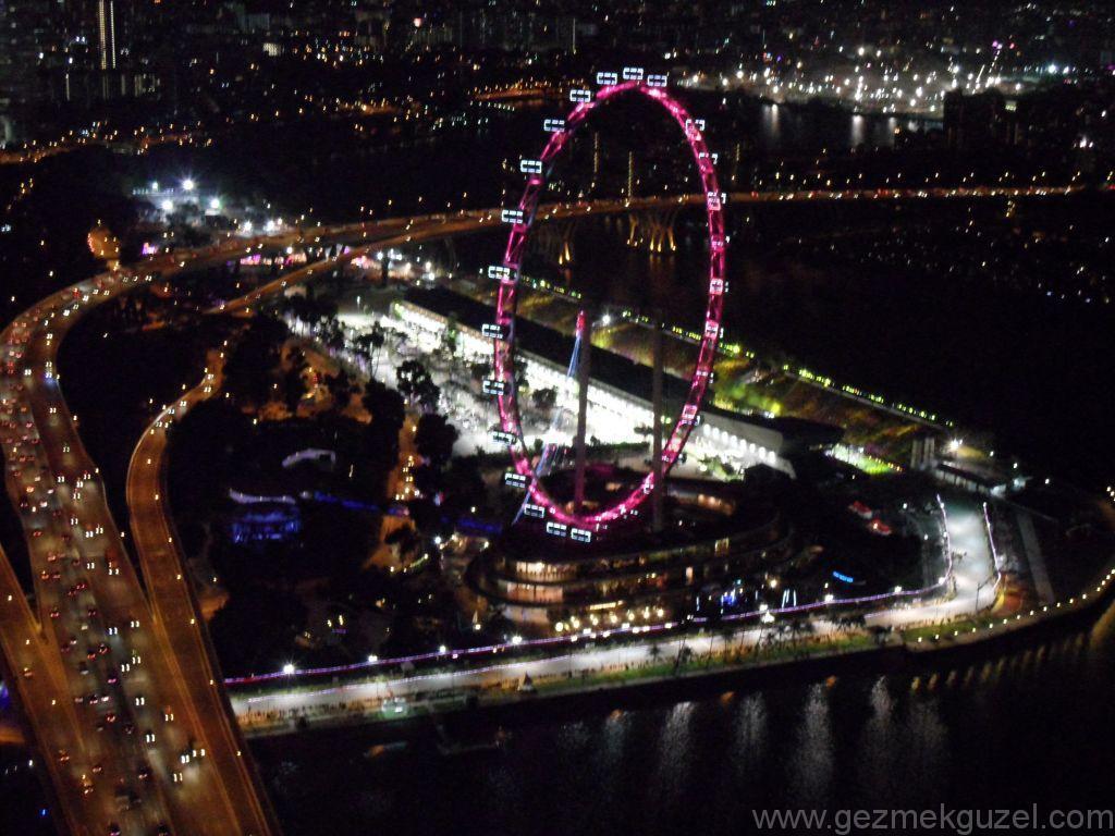 Singapur Gezilecek Yerler, Singapur F1 Pisti