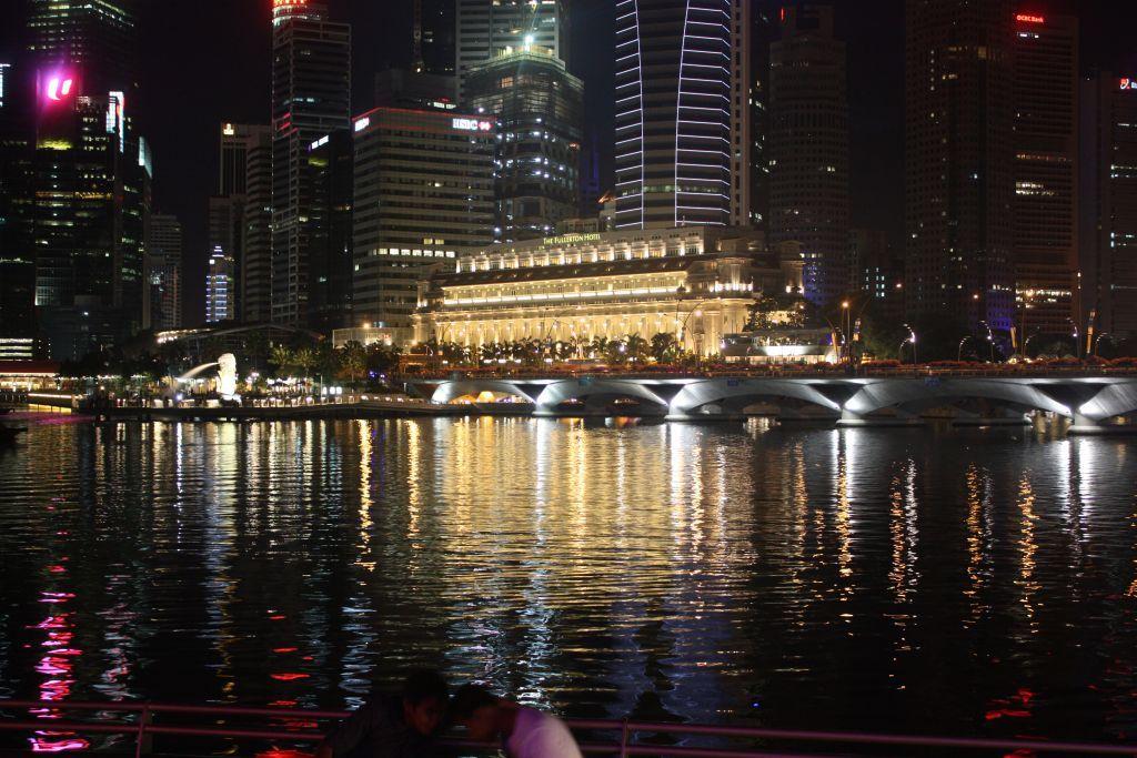 Gece Singapur Nehri 2