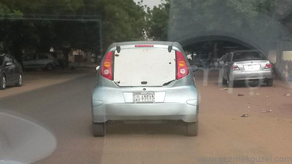 Sudan Khartum'da araç Tamiri