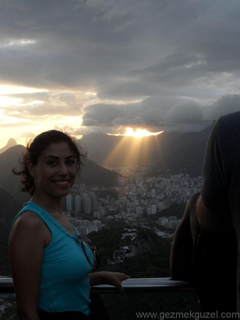 Sugar Loaf'ta Günü Batırmak, Rio Gezisi, Brezilya Gezisi Notları