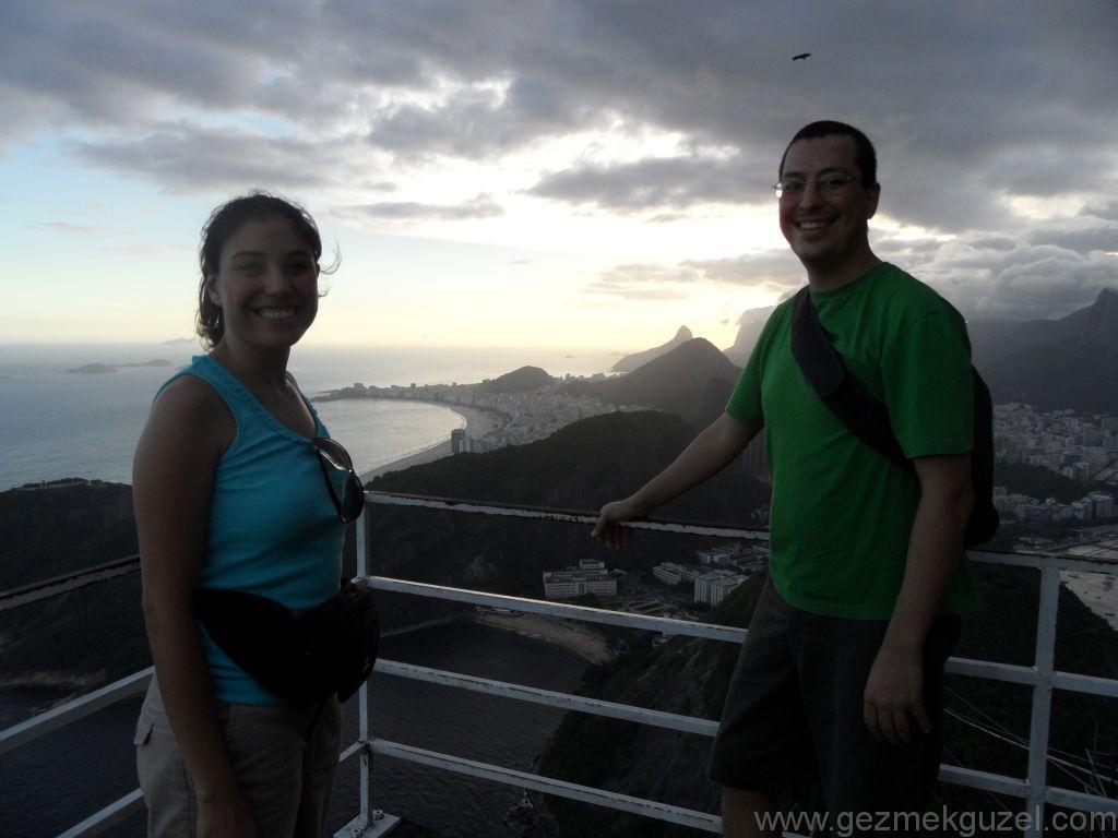 Sugar Loaf'ta Gün Batımı, Rio Gezisi, Brezilya Gezisi Notları
