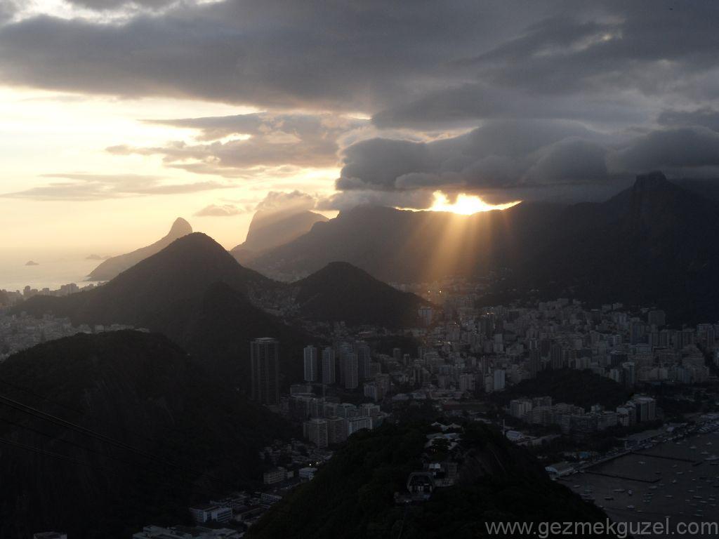 Sugar Loaf'ta Güneş Batışı, Rio Gezisi, Brezilya Gezisi Notları