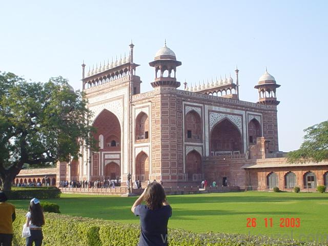 Tac Mahal Dış Kapı, Hindistan