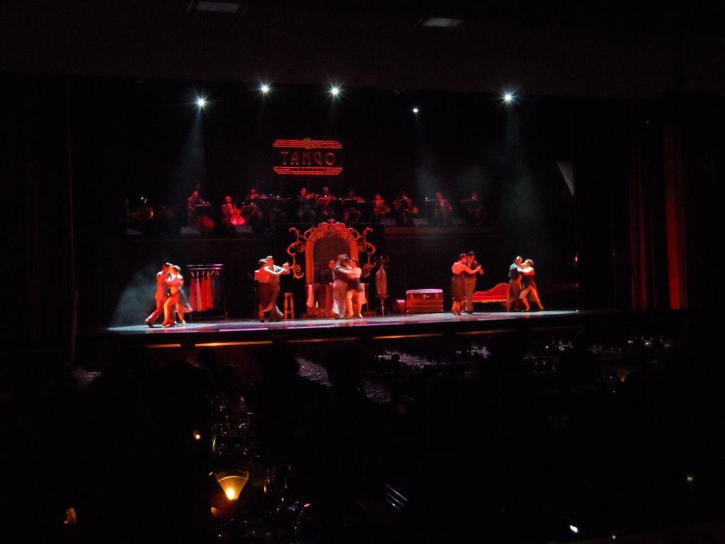 Tango Porteno soyunma odası