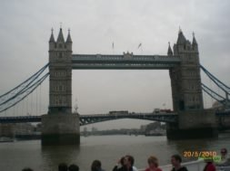 Thames nehir turunda, Londra Gezisi Notları