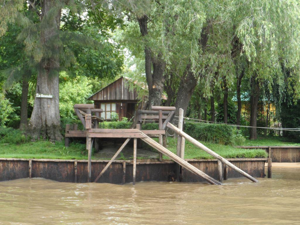 Tigre deltasında ev
