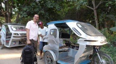 Tricycle, Filipinler'de Ulaşım