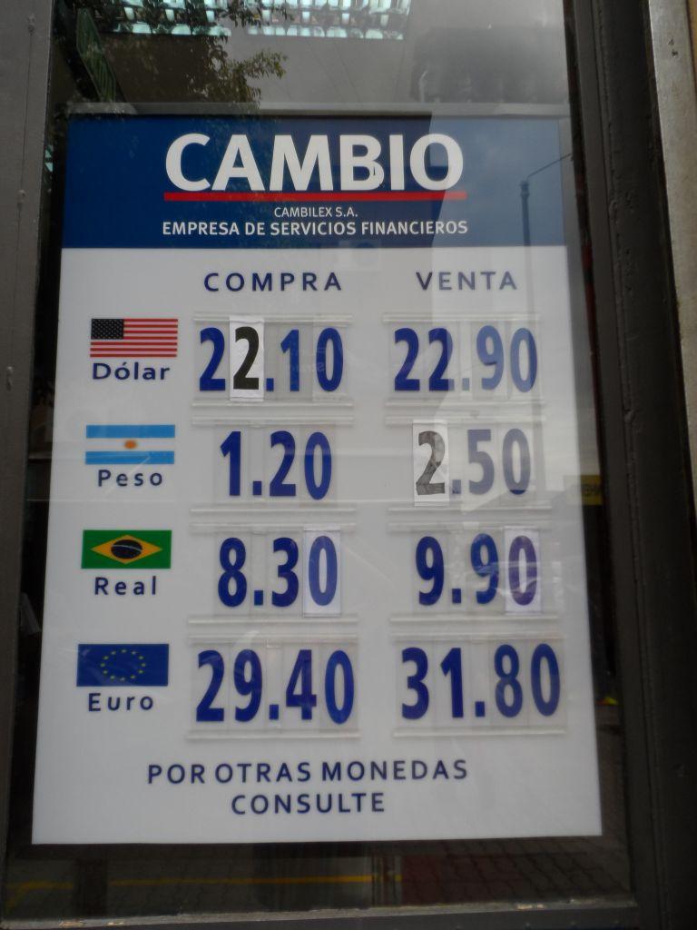 Uruguay'da zalim kur farkı