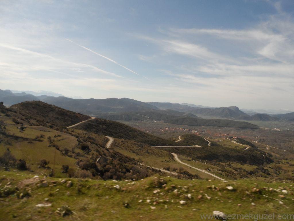 Virajlı Sagalassos Yolları, Sagalassos Antik Kenti