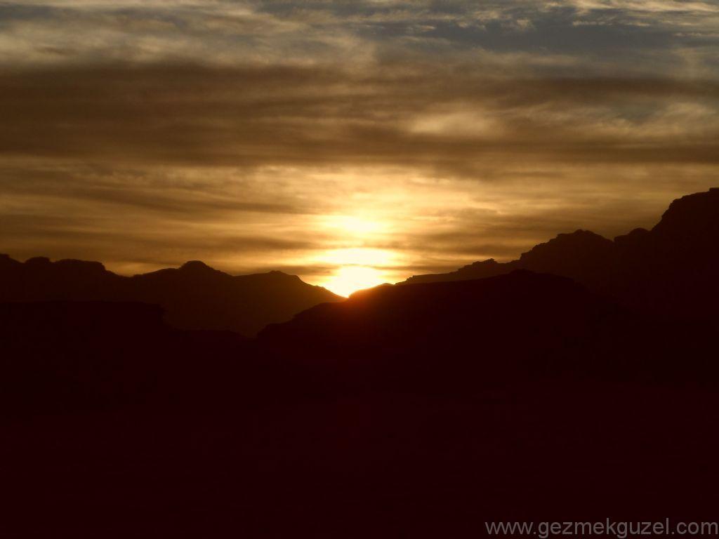 Wadi Rum Gün Batımı 1