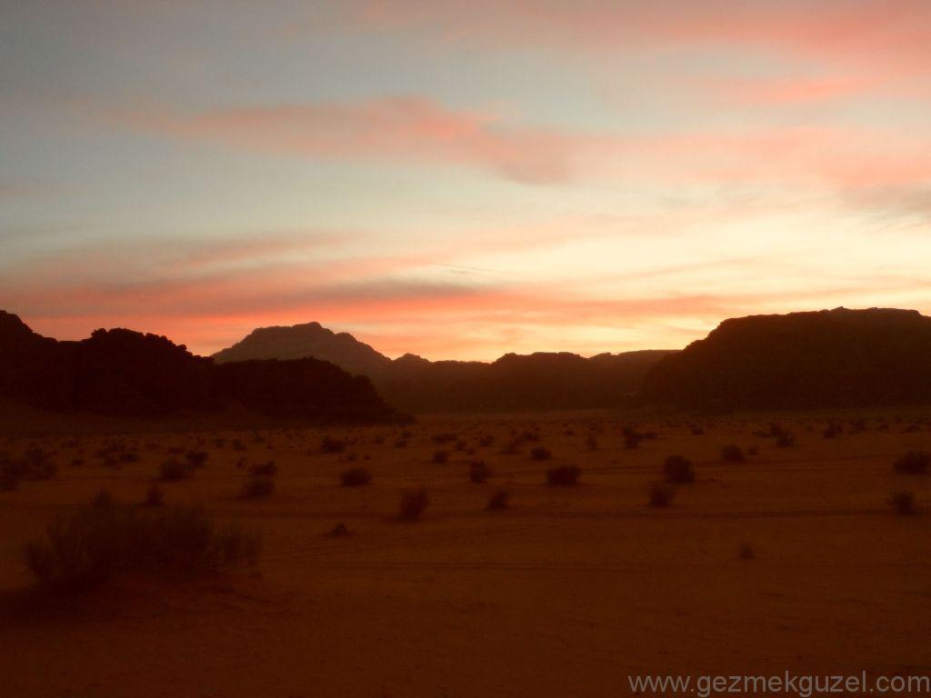 Wadi Rum Gün Batımı 3