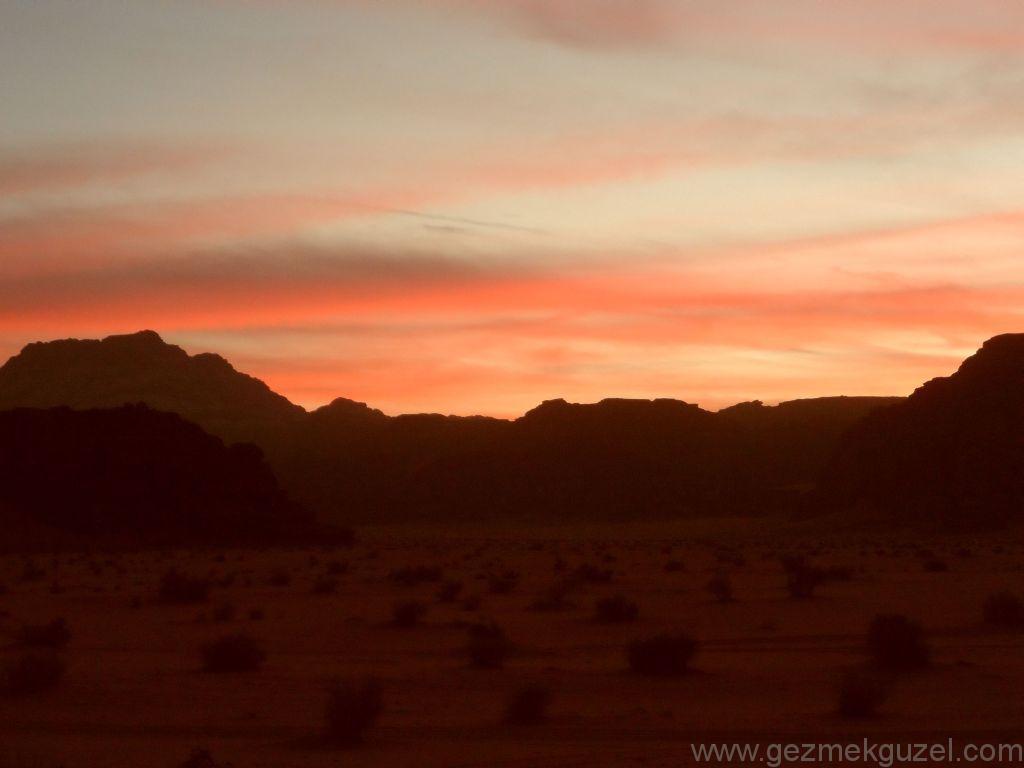 Wadi Rum Gün Batımı 4