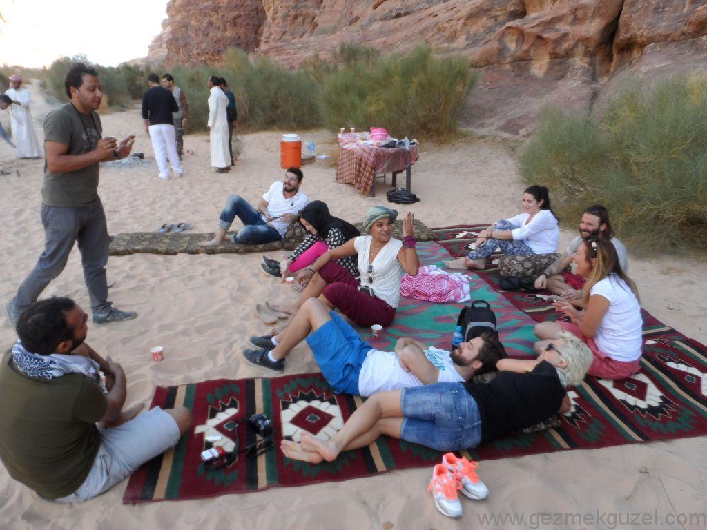 Wadi Rum Piknik