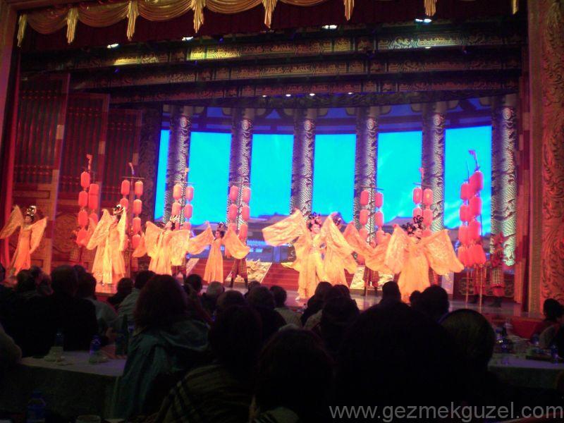 Xian gece hayatı, Çin tarihi kültür gösterisi