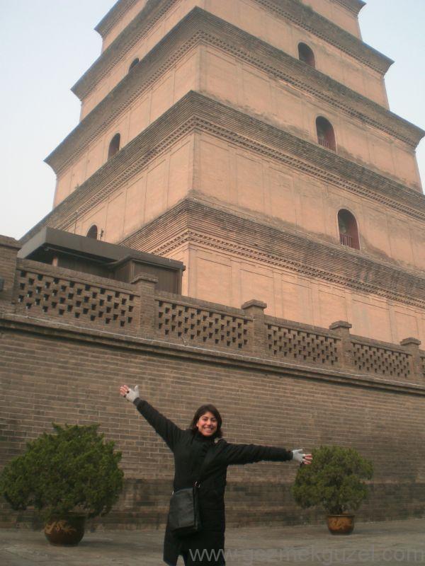 Xian gezilecek Yerler Wild Goose Pagoda