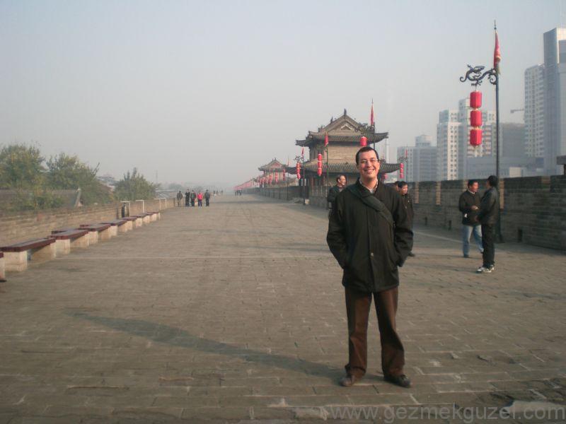 Xian gezilecek yerler Xian surları