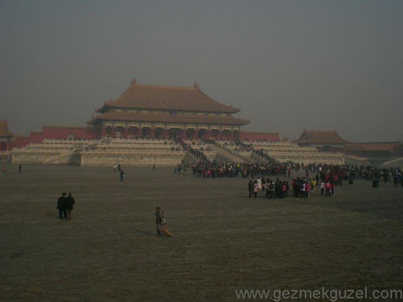 Yasak Şehir Pekin gezilecek yerler