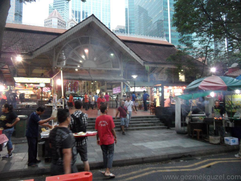 Yeniden Uzakdoğu, Singapur Gezilecek Yerler, Lau Pa Sat