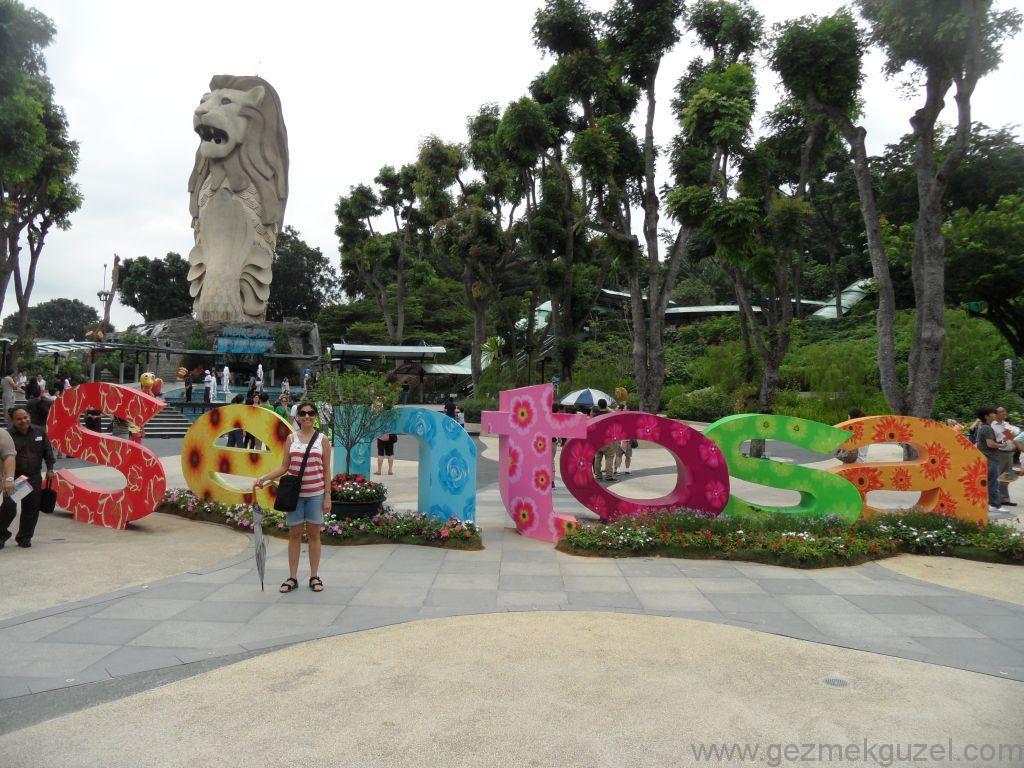 Yeniden Uzakdoğu, Singapur Gezilecek Yerler, Sentosa Adası