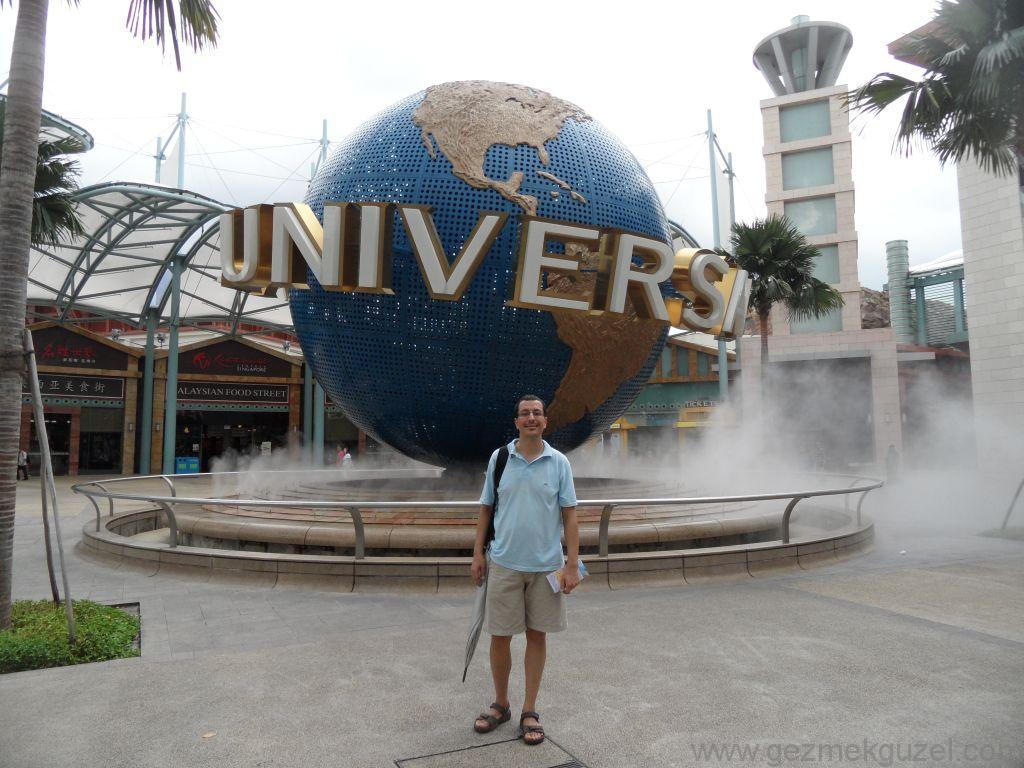 Yeniden Uzakdoğu, Singapur Gezilecek Yerler, Universal Studios