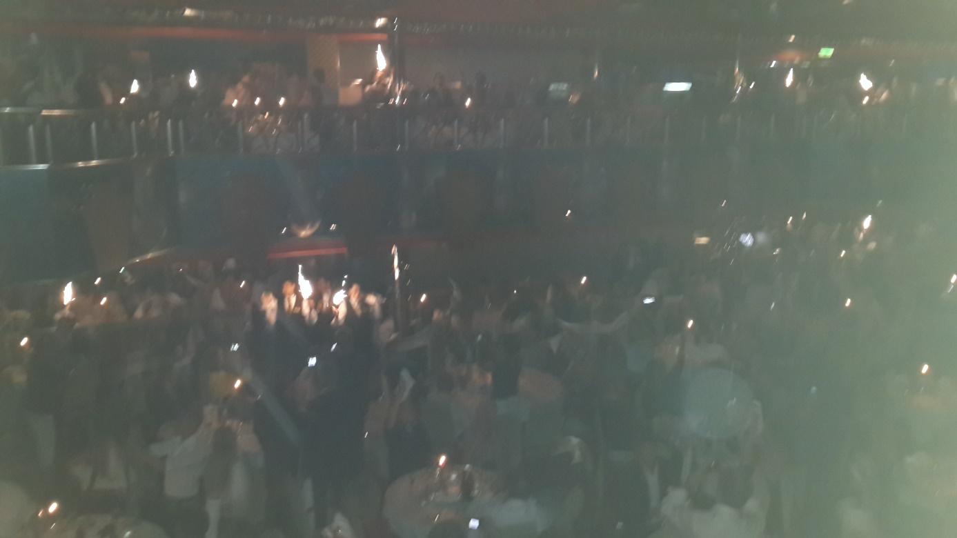 Costa Magica'da kaptanın gecesi