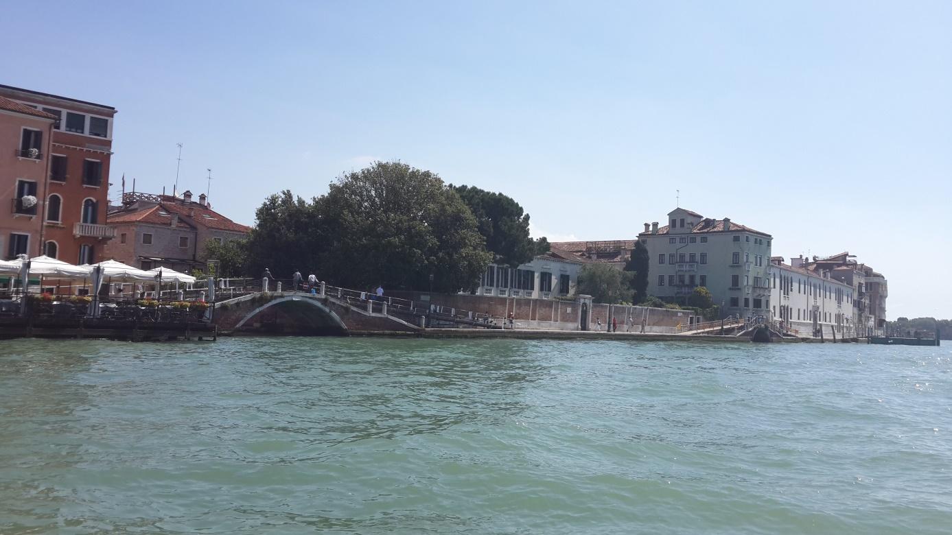Venedik'e giderken