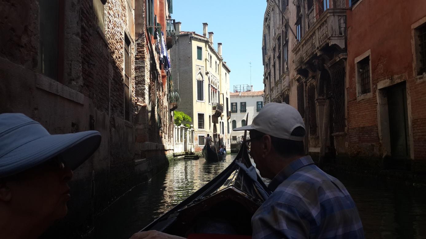Venedik'te Gondol keyfi