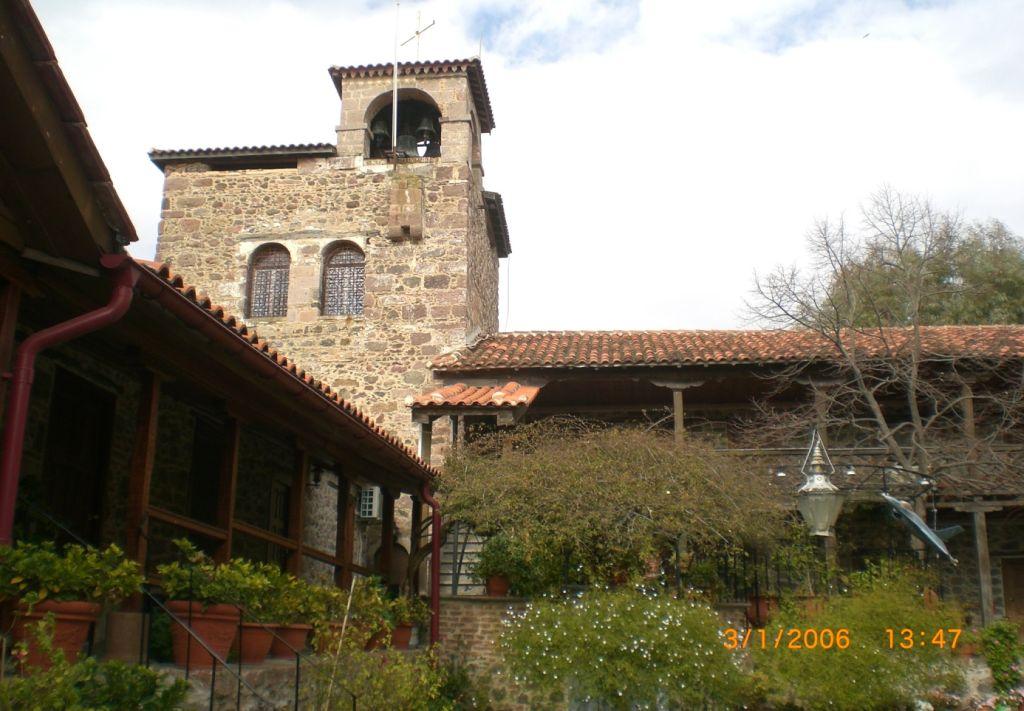 Taksiarches Manastırı, Midilli