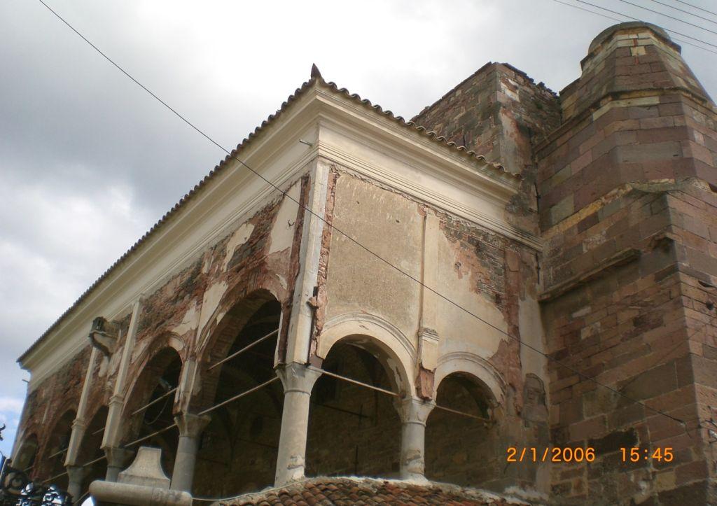 Midilli kasabasındaki Yeni Cami